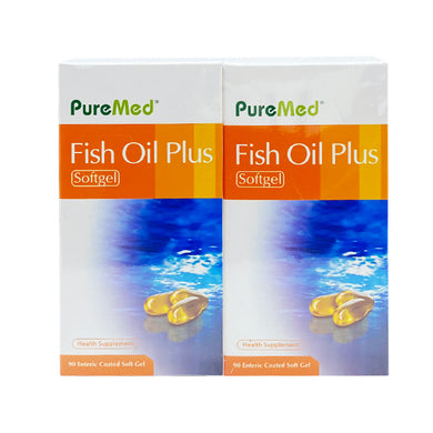 PUREMED FISH OIL PLUS 90S (2*90S) - Wellings Online Store