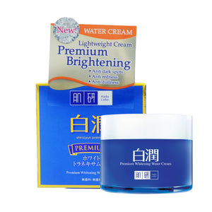 HADA LABO PREMIUM WHITENING WATER CREAM 50G (JAR)