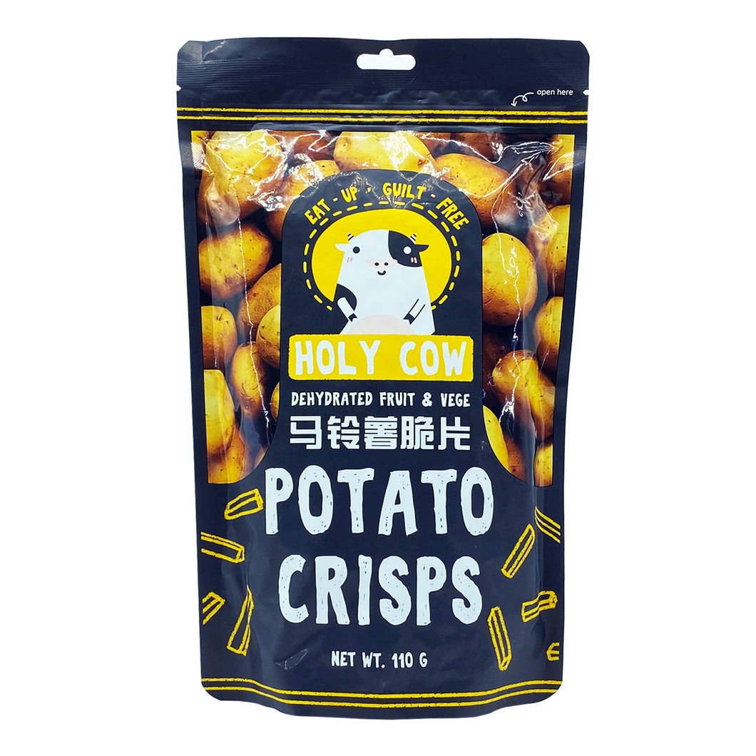 HOLY COW POTATO CRISPS 110G (PACK) - Wellings Online Store