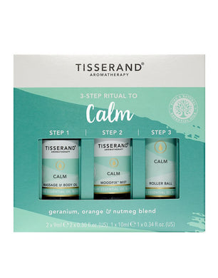 TISSERAND 3-STEP RITUAL TO CALM (SET) - Wellings Online Store