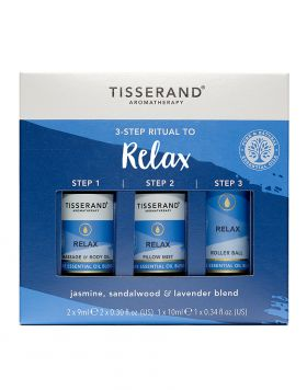 TISSERAND 3-STEP RITUAL TO RELAX (SET) - Wellings Online Store