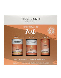 TISSERAND 3-STEP RITUAL TO ZEST (SET) - Wellings Online Store