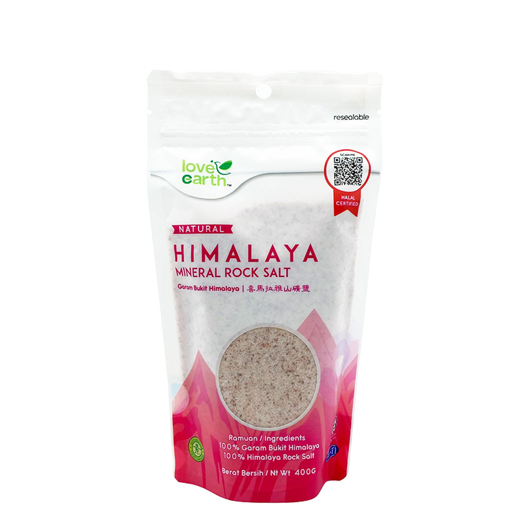 LE HIMALAYA MINERAL ROCK SALT 400G (PACK) - Wellings Online Store
