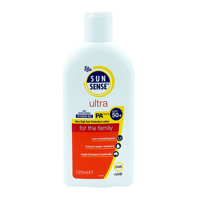 SUNSENSE ULTRA SPF50+ 125ML (BTL) - Wellings Online Store