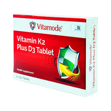 Load image into Gallery viewer, VITAMODE VITAMIN K2 PLUS D3 (30S - BOX) - Wellings Online Store