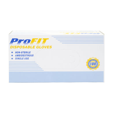 PROFIT (NITRILE GLOVE) SIZE M - POWDER FREE (100S - BOX) - Wellings Online Store