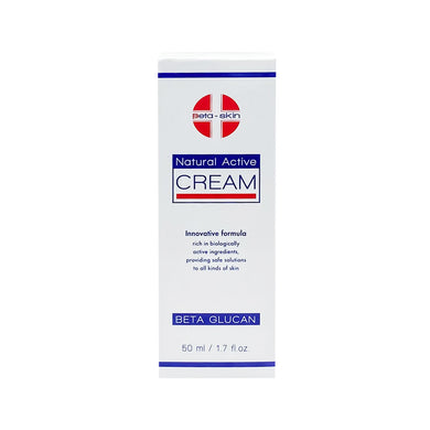 BETA SKIN NATURAL ACTIVE CREAM 50ML (TUBE) - Wellings Online Store