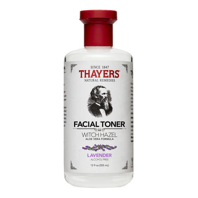 THAYERS WITCH HAZEL TONER ALCOHOL-FREE - LAVENDER 355ML (BTL) - Wellings Online Store