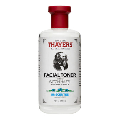 THAYERS WITCH HAZEL TONER ALCOHOL-FREE - UNSCENTED 355ML (BTL) - Wellings Online Store