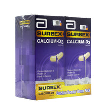 Load image into Gallery viewer, ABBOTT SURBEX B/E CALCIUM-D3 (2*60S)