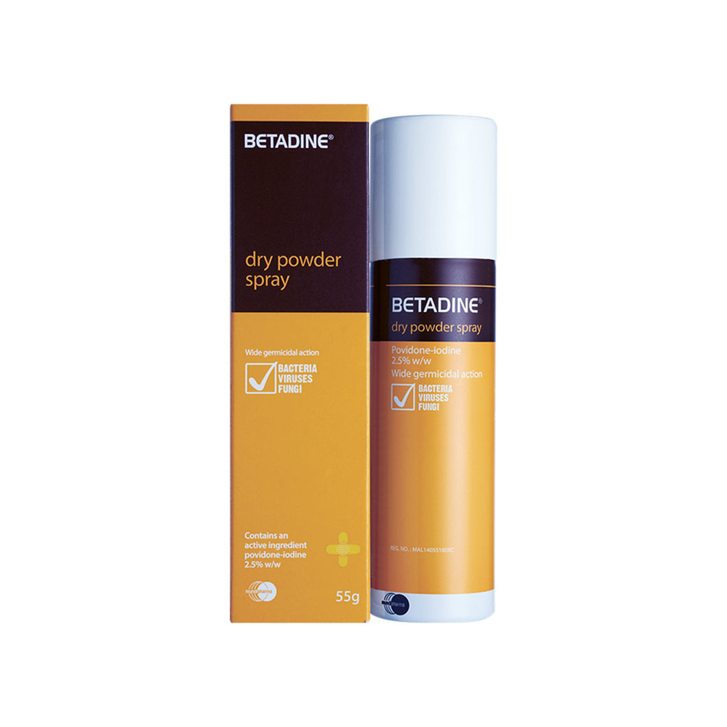 BETADINE DRY POWDER SPRAY 55G (BTL)