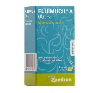 FLUIMUCIL A600 (5*2S - BOX) - Wellings Online Store