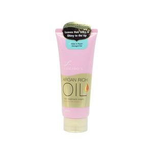 LUCIDO-L HAIR TREATMENT CREAM - ARGAN OIL 150G (TUBE)