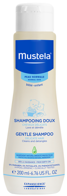 MUSTELA GENTLE SHAMPOO 200ML (BTL) - Wellings Online Store