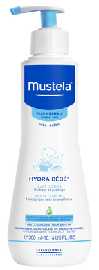 MUSTELA HYDRA BEBE BODY LOTION 300ML (BTL) - Wellings Online Store