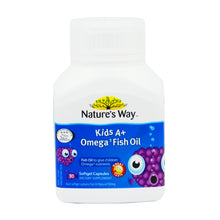 Load image into Gallery viewer, NATURE'S WAY KIDS A+ OMEGA 3 FISH OIL (30S - BOX)