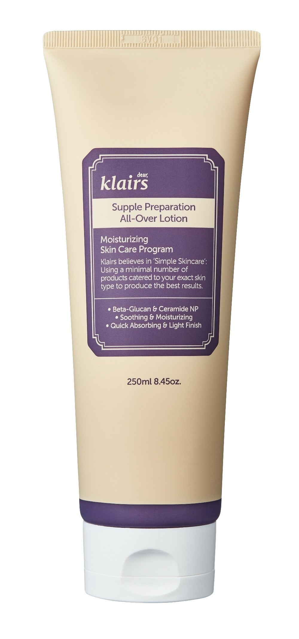 KLAIRS SP ALL-OVER LOTION 250ML (TUBE)
