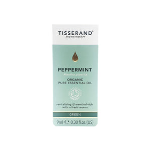 TISSERAND PURE ESSENTIAL OIL 9ML - PEPPERMINT (BTL) - Wellings Online Store