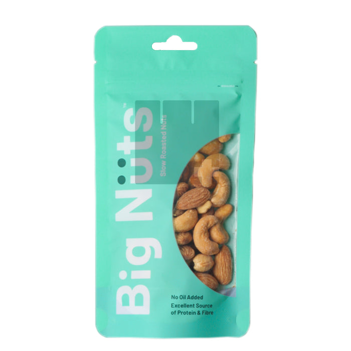 BIG NUTS ALMOND & CASHEW -LIGHTLY SALTED 110G (PACK)