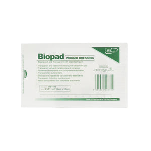 BIOPAD WOUND DRESSING 6X10CM (1S - UNIT)