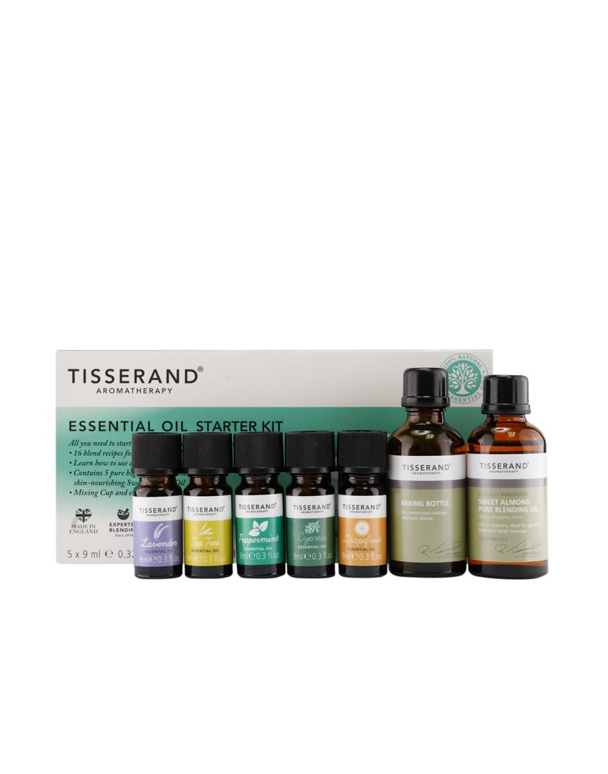 TISSERAND ESSENTIAL OIL STARTER KIT (SET) - Wellings Online Store