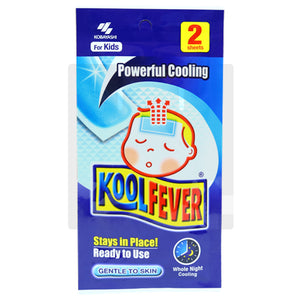 KOOL FEVER CHILDREN COOLING GEL (2S - PACK)