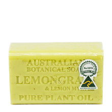 Load image into Gallery viewer, AUSTRALIA BOTANICAL SOAP 200GM - LEMONGRASS (BAR)