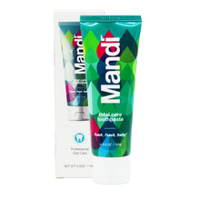 Load image into Gallery viewer, MANDI FRESH, FRESH, BABY TOOTHPASTE 100G (TUBE)