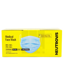 Load image into Gallery viewer, NEUTROVIS MEDICAL FACE MASK (50S - BOX)