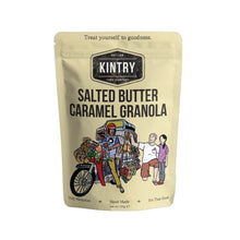 Load image into Gallery viewer, KINTRY SALTED BUTTER CARAMEL GRANOLA 200G - (PACK)