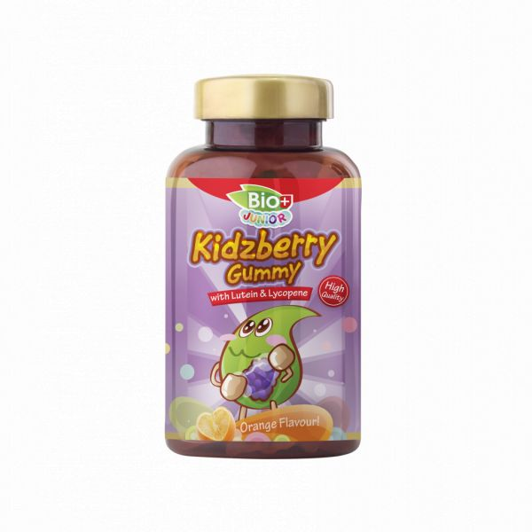BIO+ JUNIOR KIDZBERRY LUTEIN GUMMY - ORANGE (80S - BTL)