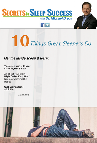 10 Things Great Sleepers Do