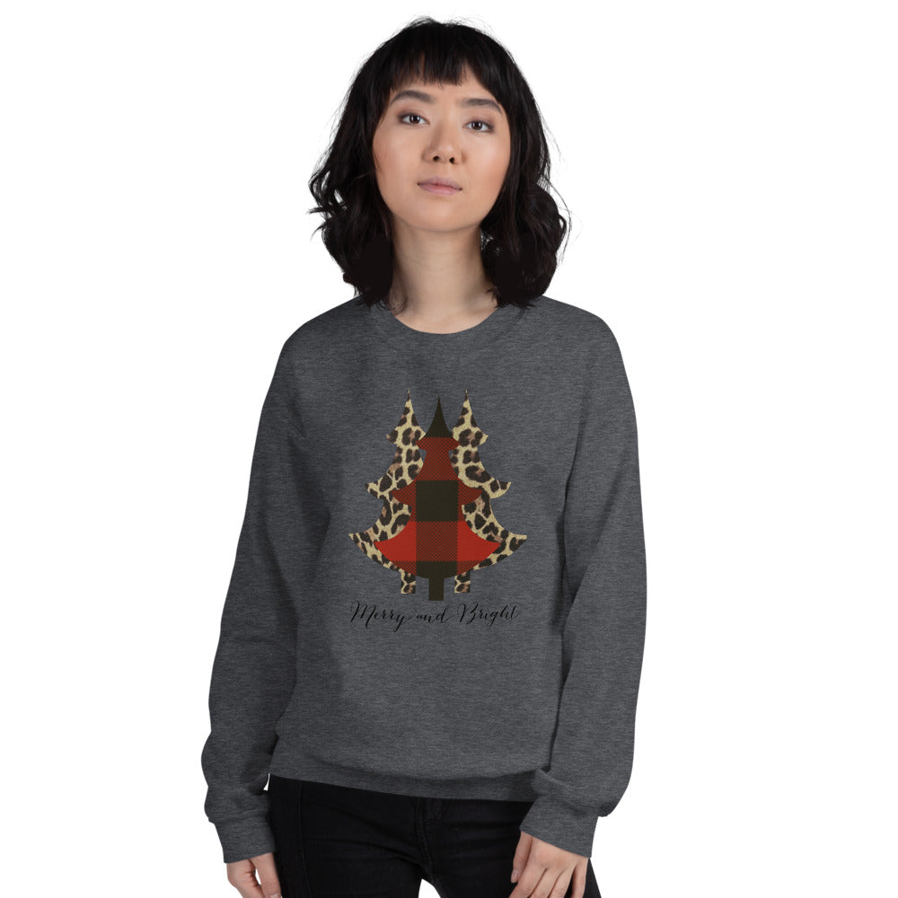 Merry and Bright Tree Sweatshirt