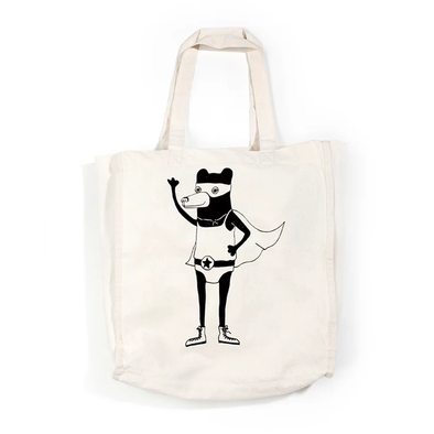 Tote Bag - No fear Bear