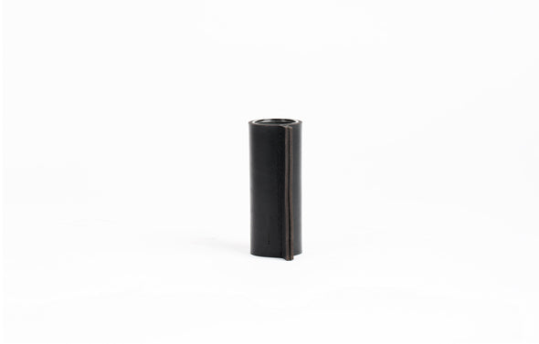 Hold Me Tight - Leather Vase Black