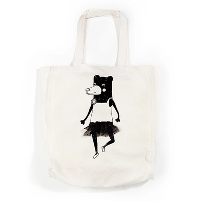Tote Bag - Dancing bear