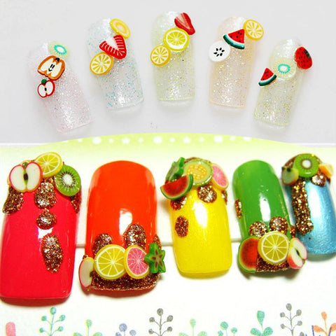 3D DIY Nail Art Tips Sticker