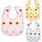 Baby Bib, Newborn Feeding Accessories Waterproof Baby Saliva Burp Bib, Dot Pattern