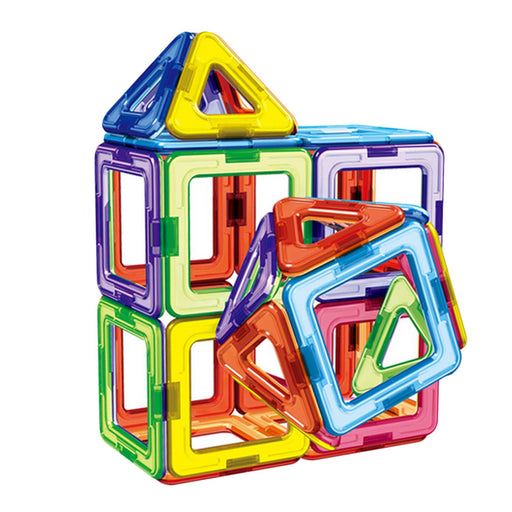 Triangle Square Magnetic Building Blocks Educational Toy, 30pcs