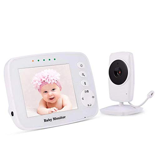 Baby Monitor, Wireless Zoomable Night Vision Two-Way Audio Digital Camera