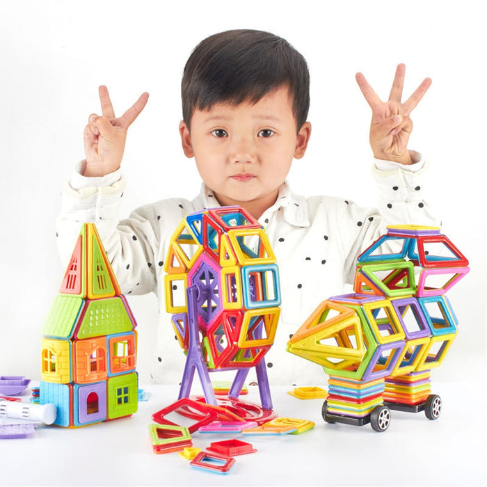 Magnetic Building Blocks, DIY Magnetic Building Blocks Educational Toys