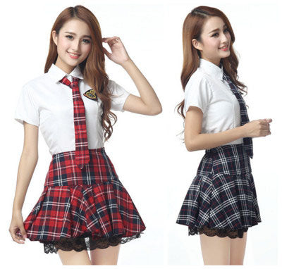Short Sleeves School Uniform