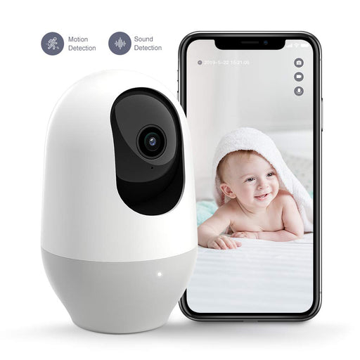 Baby Monitor, 360-degree Wireless IP Camera Motion Tracking