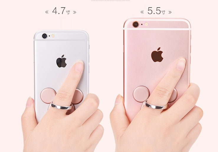 Ring Holder Hook Universal Mobile Phone 3D Metal Ring Stand Holder Mount Holder Finger Grip for IPhone