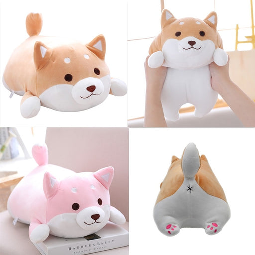 Shiba Inu Dog Pillow Cute Soft Fat Plush Toys Children's Toys Christmas Gifts Home Decoration