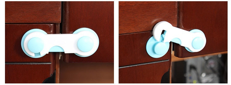 Baby Safety Closet Lock To protect the Safety of Baby /  Drawer Lock Child Safety Lock