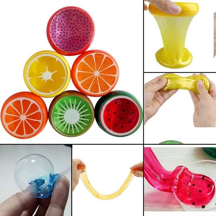 Slime Putty Toy Crystal Fruit