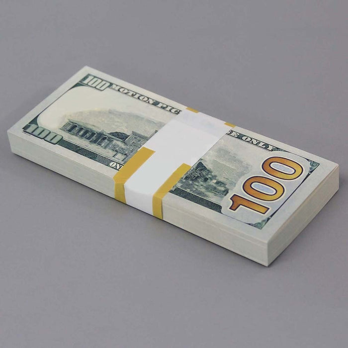 100 Dollar Cash Bills Practice Counting 100 Sheets
