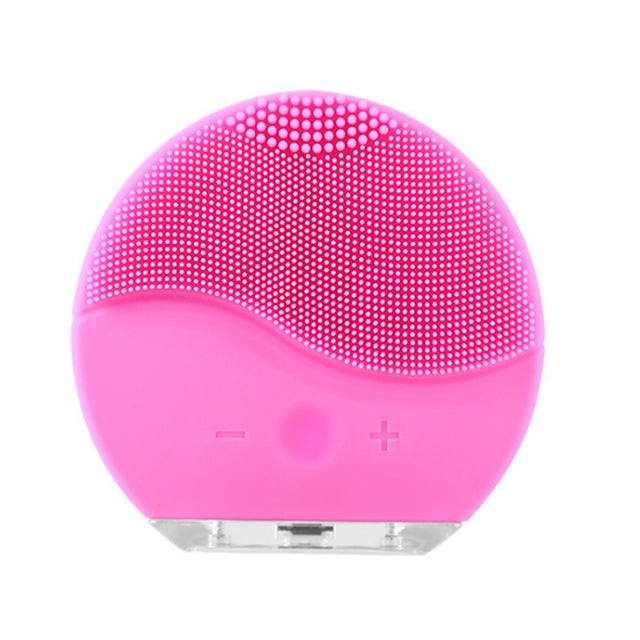 Mini2 T-sonic Facial Cleansing Brush Device Rechargeable Skin Care Cleaner Gentle Exfoliation And Sonic Cleansing For All Skin Types