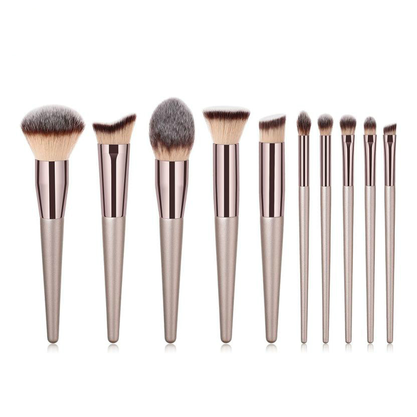 Makeup Brush Sets Tools  Wooden Foundation Cosmetic Eyebrow Eyeshadow Brush 1PC